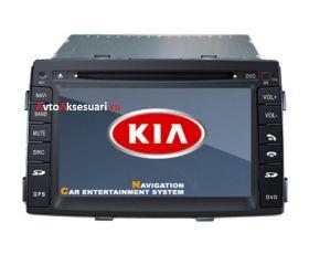 Штатная магнитола для Kia Sorento - 2009-11