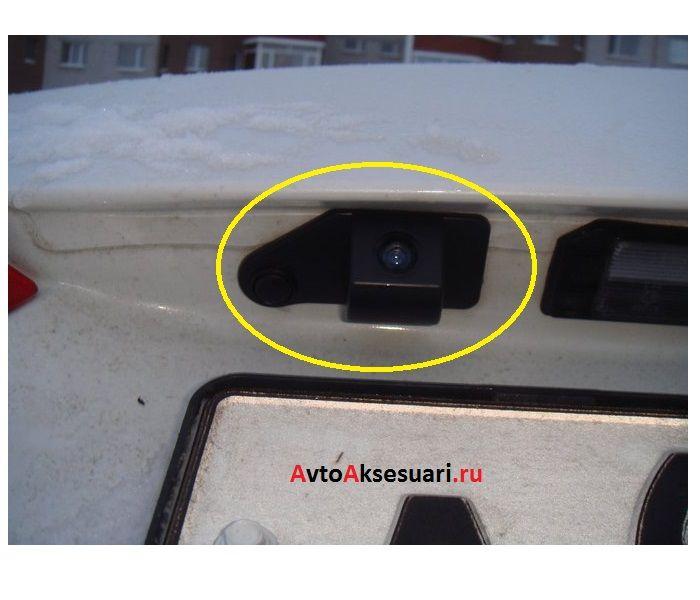 камера заднего вида на митсубиси асх отзывы