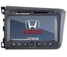 Штатная магнитола для Honda Civic 2012+