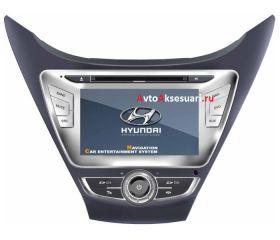 Штатная магнитола для Hyundai Elantra 2012
